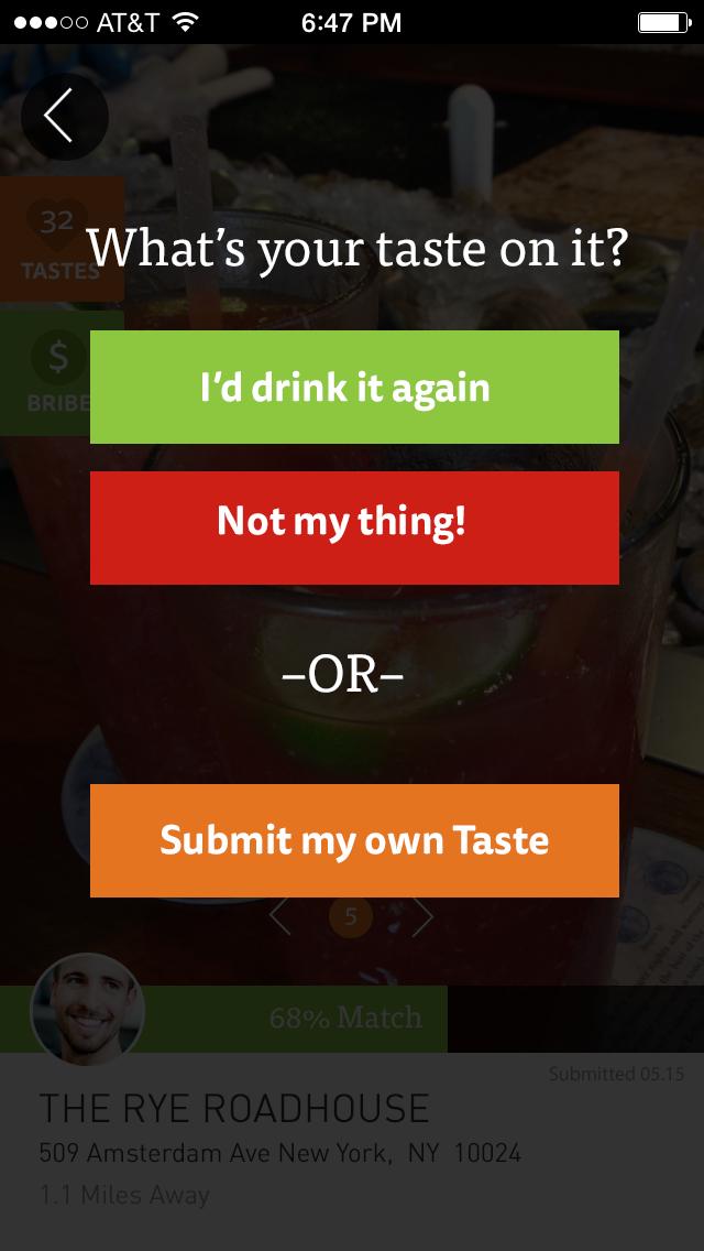 Local taste